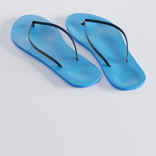 Thumbnail: Male bathing shoes or beach slippers