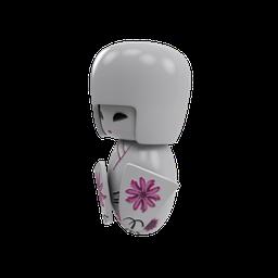 Thumbnail: SM_Kokeshi Japanese Doll 05