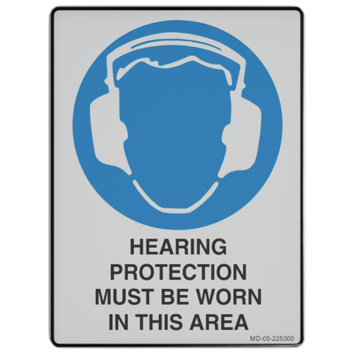 Thumbnail: Sign – Hearing Protection Must be Worn in This Area.