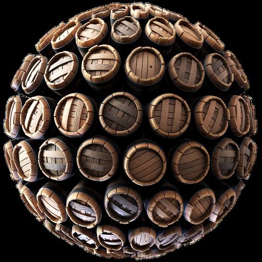Stylized Barrels