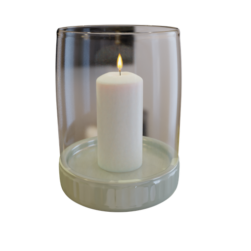 Thumbnail: Candle in Glass