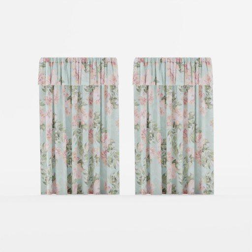Thumbnail: Floral curtain