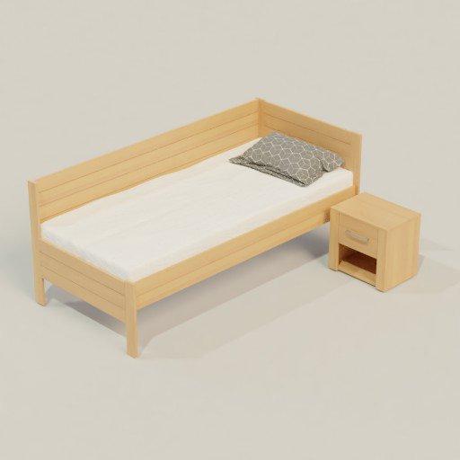 Thumbnail: Corner bed