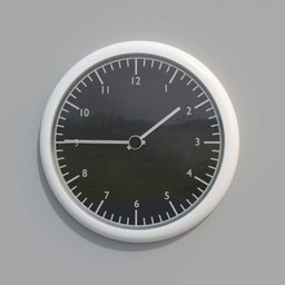 Thumbnail: Black and white wall clock