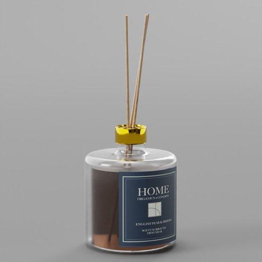 Thumbnail: Perfume Diffuser Glass Bottle