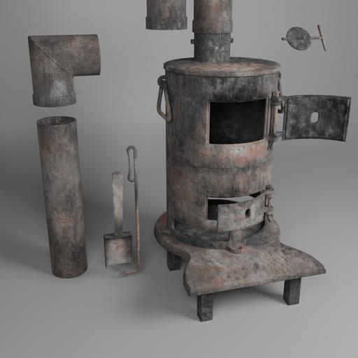 Potbelly stove