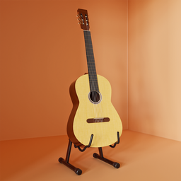 Thumbnail: Classic guitar and stand