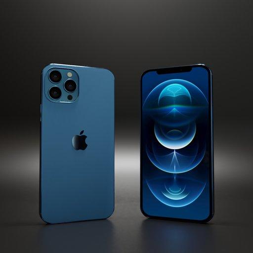 Thumbnail: Iphone 12 pro max blue