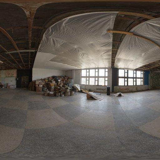 Thumbnail: Abandoned Factory Canteen 02