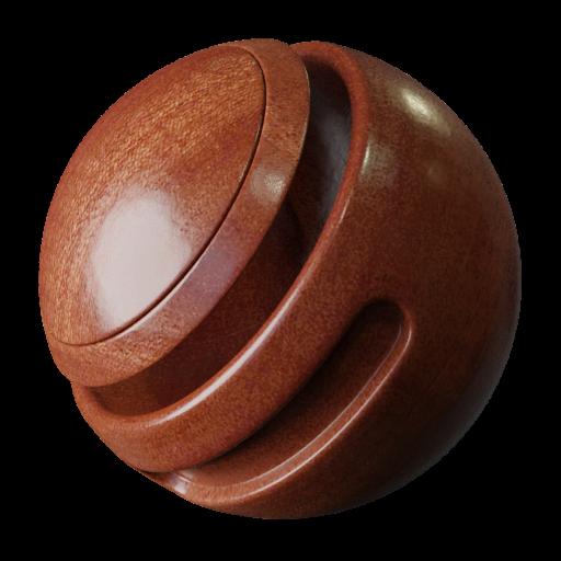 Thumbnail: Mahogany plywood texture