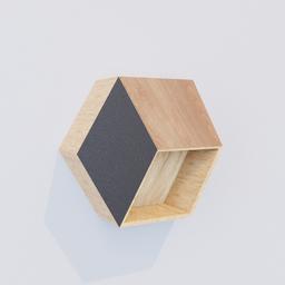Thumbnail: Hexagon Shelf