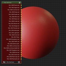 Thumbnail: RAL Classic Red hues
