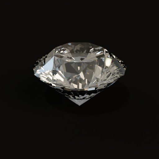 Brilliant cut Diamond(White)