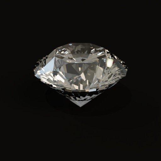 Thumbnail: Brilliant cut Diamond(White)