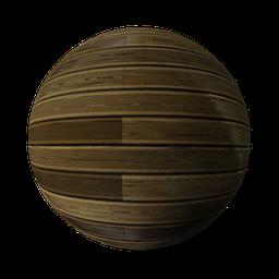Thumbnail: Terrace wood board - procedural