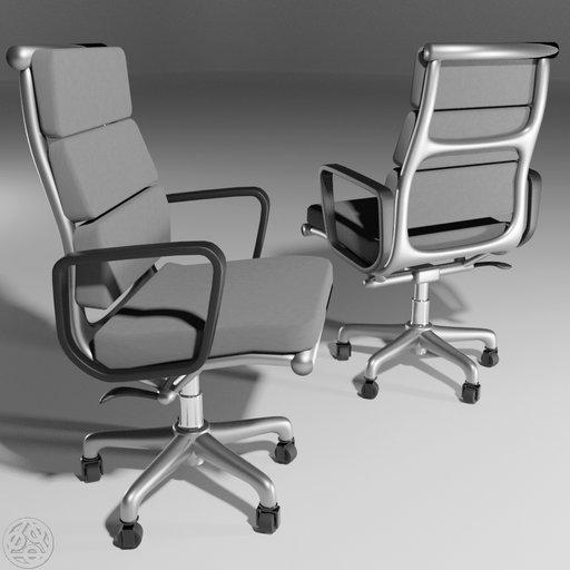 Eams Soft Pad Executive Chair by DJH