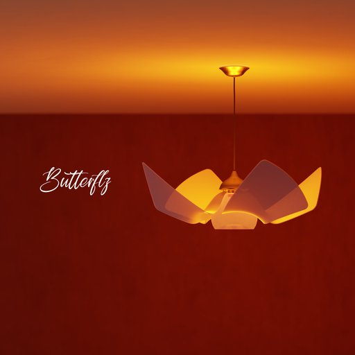 Thumbnail: Butterfly lamp