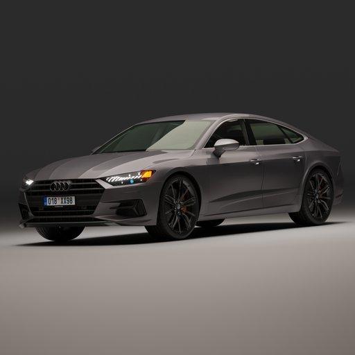 Thumbnail: Audi A7 55 TFSI