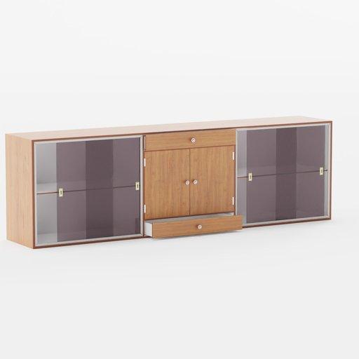 Thumbnail: Wood cabinet