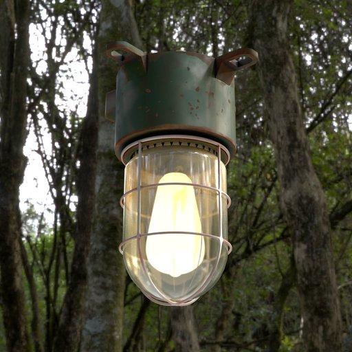 Thumbnail: Industrial Lamp
