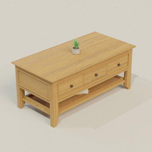 Thumbnail: Coffee Table 120 x 60 x 50