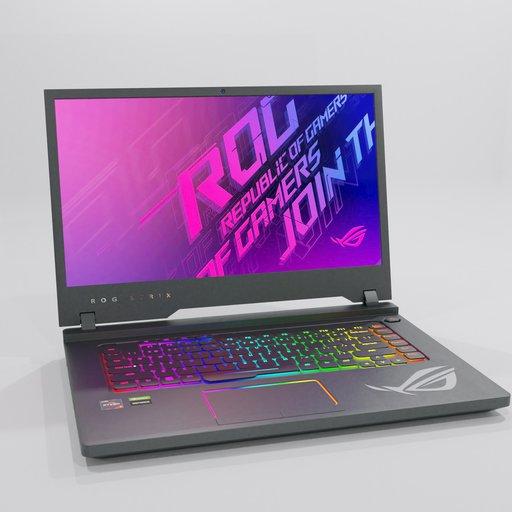 Thumbnail: ROG laptop