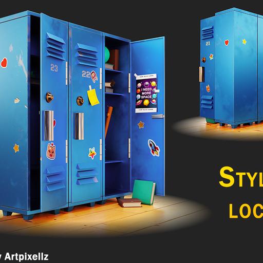 Thumbnail: Stylized locker
