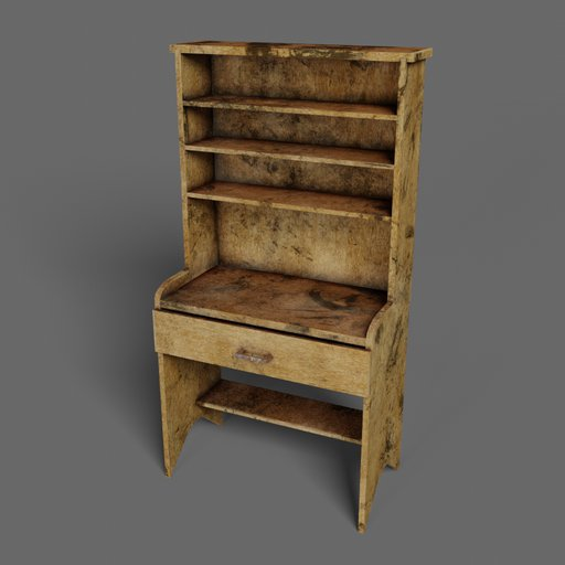 Old wooden cupboard