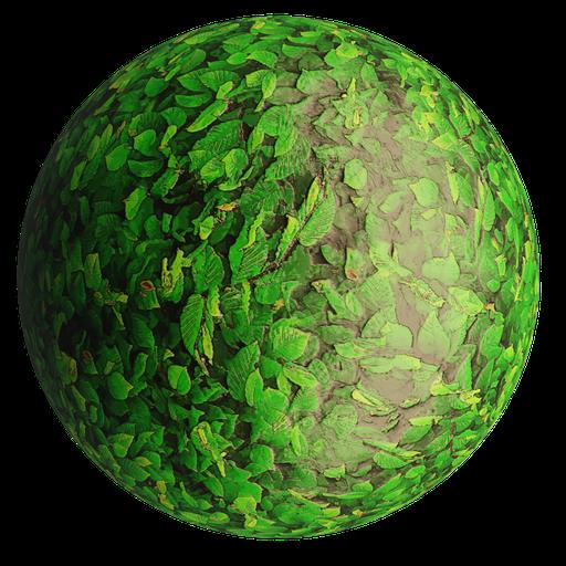 Thumbnail: Leaves04 Stylized 4K