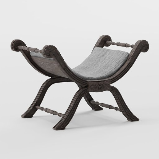 Thumbnail: Antique chair