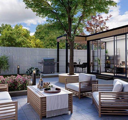 Thumbnail: Modern outdoor seating
