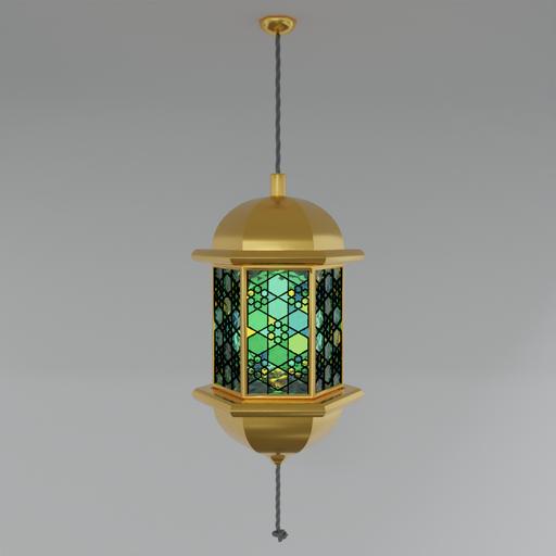 Stained Glass Lantern V.2