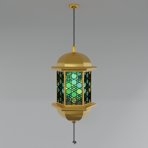 Thumbnail: Stained Glass Lantern V.2