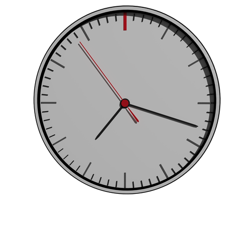 Thumbnail: Minimal clock