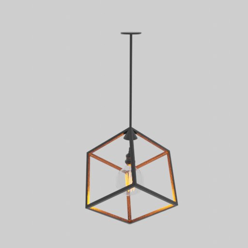 Thumbnail: Cube ceiling lamp decor