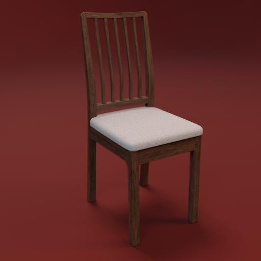 Thumbnail: IKEA EKEDALEN chair wood