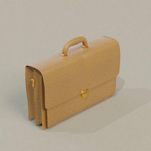 Thumbnail: Leather briefcase