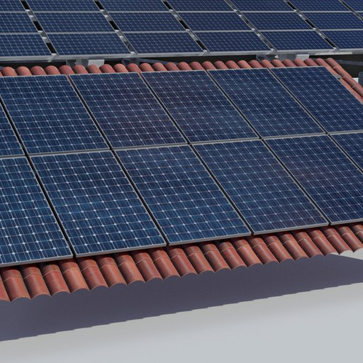 Thumbnail: 3.6kw Roof Solar Panels Array
