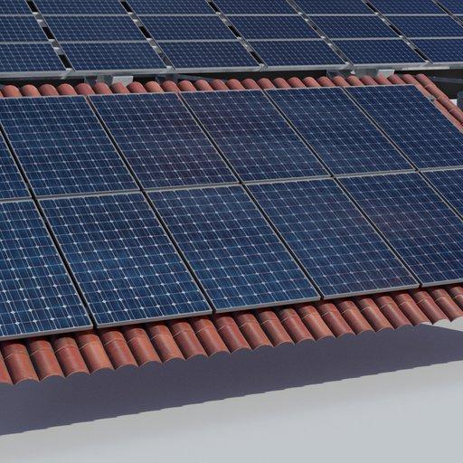3.6kw Roof Solar Panels Array