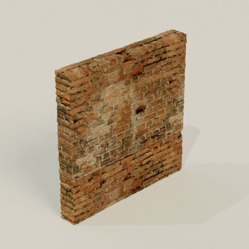 Thumbnail: Old Brick Wall