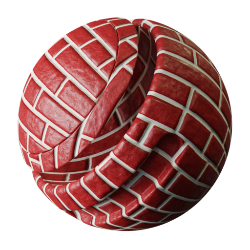 Thumbnail: Sandblasted bricks colored texture