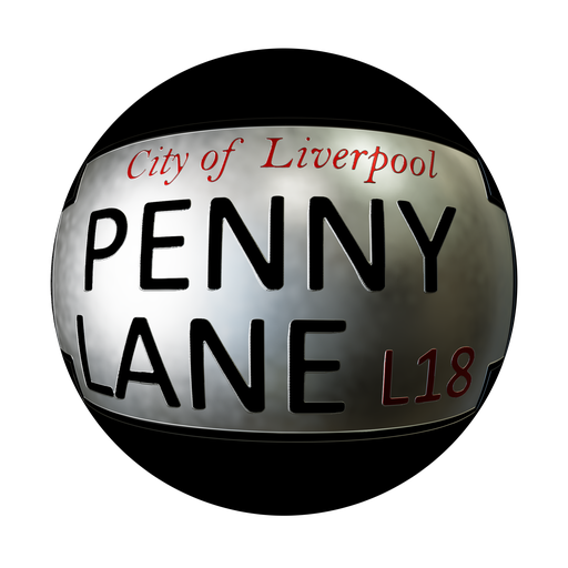 Penny Lane Road Sign