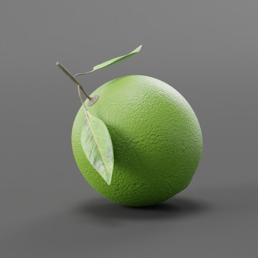 Thumbnail: Lime Citrus Fruit with Leaves