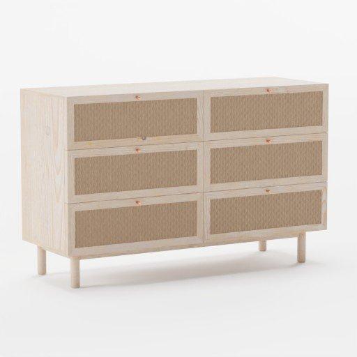 Wooden Dresser light