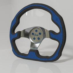 Thumbnail: Sports steering wheel