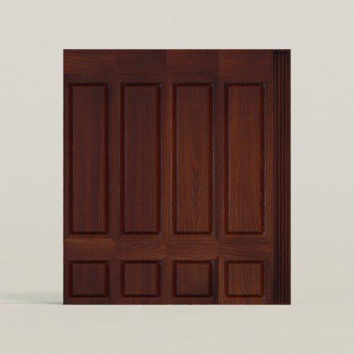 Thumbnail: Wall Dark Wood