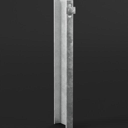 Thumbnail: Traffic Barrier Guardrail Type Pole