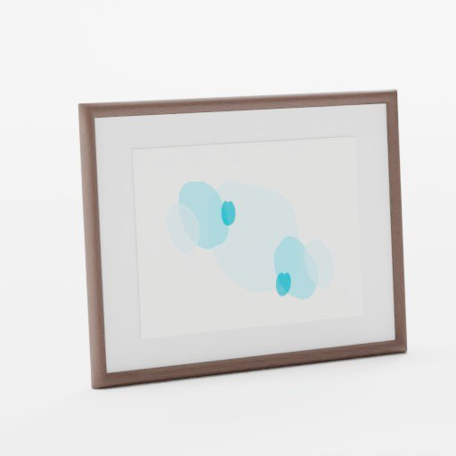 Thumbnail: Minimalist Art Photo Frame Self Standing