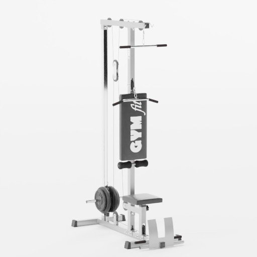Thumbnail: Bench with pulley