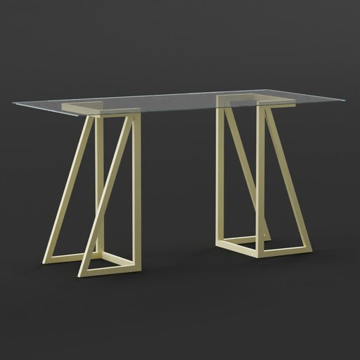 Thumbnail: Glass Desk - Atkinson Desk